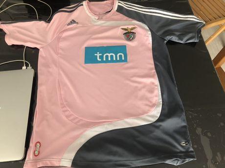 camisola adidas Benfica Rosa