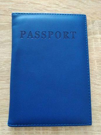 Обложка для паспорта c местом под карточку и симку, новая