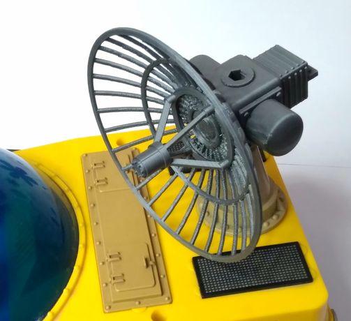 3D печать локатор в сборе Интеркосмос антенна радар планетоход луноход
