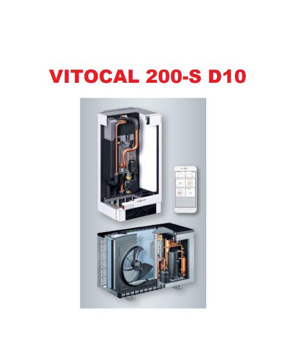 Powietrzna Pompa Ciepła Viessmann Vitocal 200S 12kW Rotenso Aquami