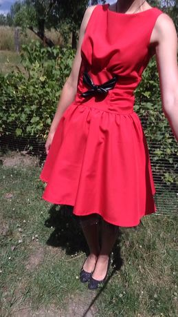 Плаття червоне. Платье красное
