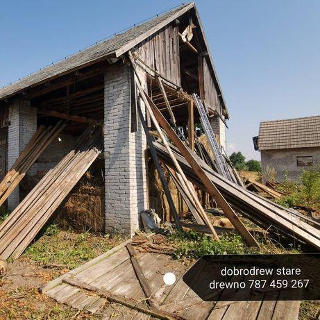 Zamiana starych desek na nowe stodola stodoly rozbiórka rozbiórki desk