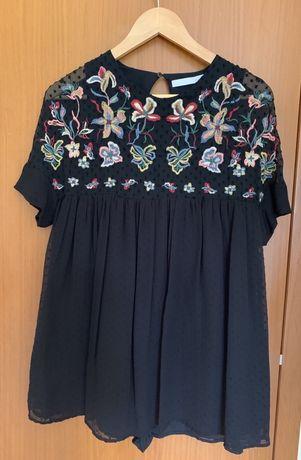 Vestido macacão Zara e Macacão floral.