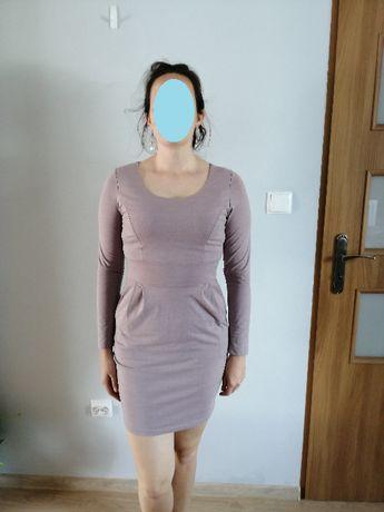 Sukienka nan co dzień z kieszeniami r. 38