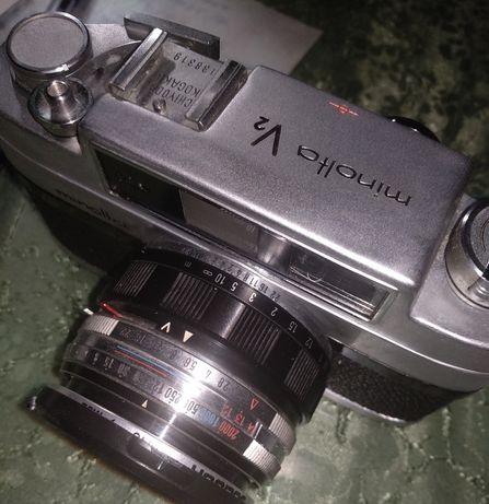 Minolta V2 плёночный фотопарат под 135 тип плёнки