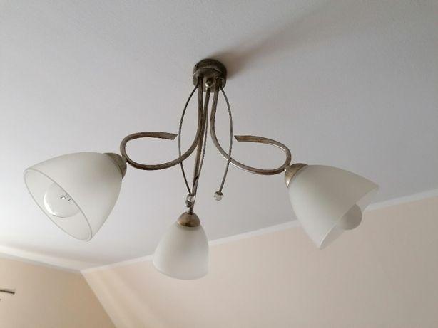 Lampa wisząca i lampka! Tanio! Jak nowe!