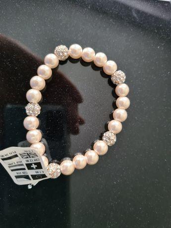 Nowa śliczna bransoletka z perełkami.