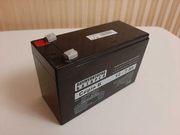 Аккумуляторная батарея (аккумулятор) 12-7Ah б/у