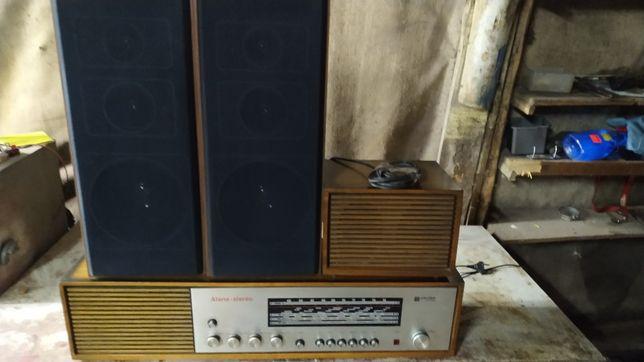 Okazja Tonsil UNITRA radio z kolumnami