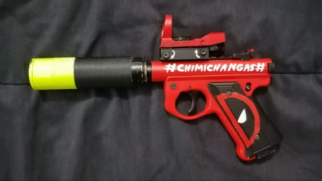 Sniper Mk1 airsoft customizada.