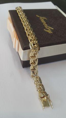 Bransoletka złota galibaltka 585