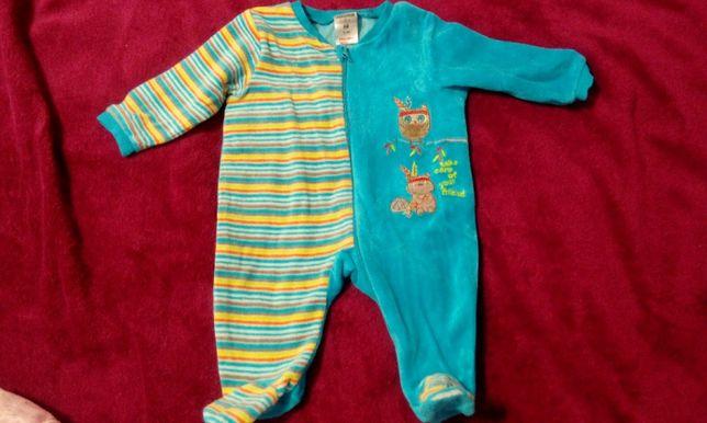Человечик теплый для новорожденных 0-3 месяца