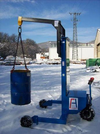 Stacker Empilhador Monta-cargas Eléctrico todo-o-terreno