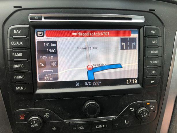Ford zmiana mocy, Aktualizacja Convers + menu pl Navi NX SD, DVD 2021