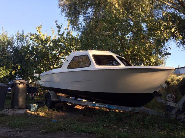 Łódź motorowa kabinowa Waterland 640