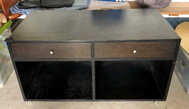 Móvel para TV em madeira Wengue