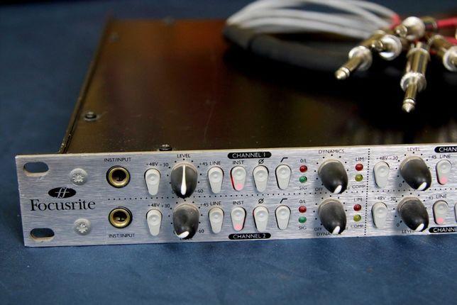 Микрофонный предусилитель преамп Focusrite Platinum 8 OctoPre