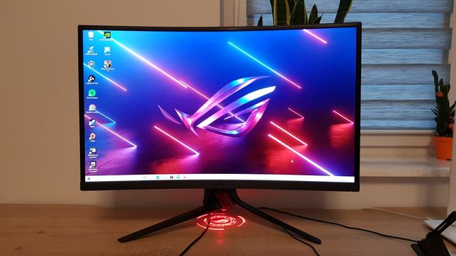 Monitor do gier Asus ROG Strix XG27VQ (wymiana za procesor)
