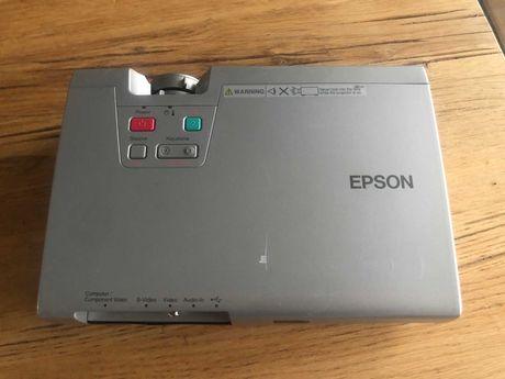Projektor Epson EMP-740 Lumen 2500 Lampa tylko 22 h  w 100% SPRAWNY !