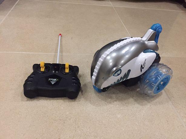Машина акула на пульте управления игрушка для детей