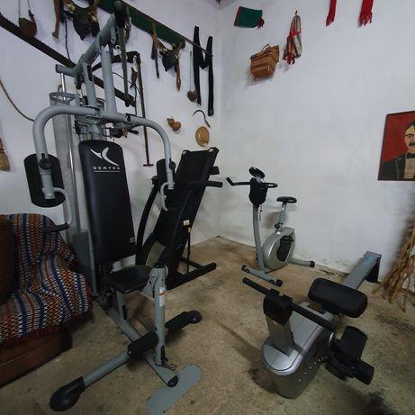 Máquina multifunções musculação   Remo   Abdominal