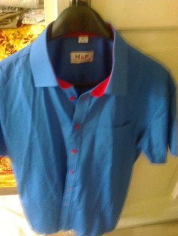 koszula niebieska M&P rozml 41/42