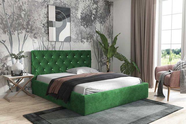 Łóżko Tapicerowane Napoli 90, 120, 140, 160, 180, 200cm Stelaż