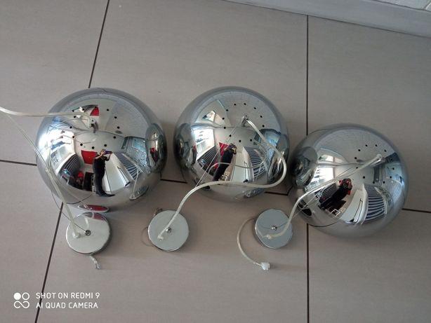 Lampy wiszące 3 sztuki loft