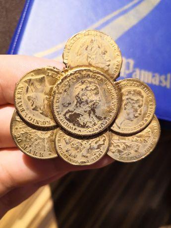 Zlepek monet ciekawostka zestaw