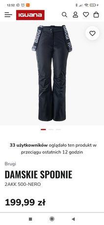 Damskie spodnie narciarskie NOWE z metką