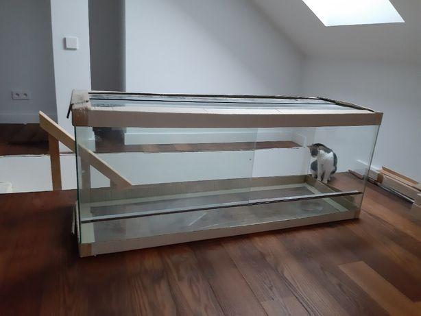 terrarium szklane bardzo duże 150x50x60 nowe