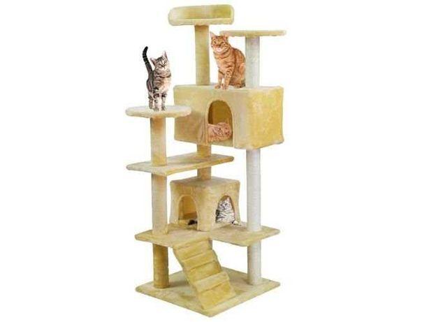 Домик для кошки 130см драпак для кота когтеточка дряпка