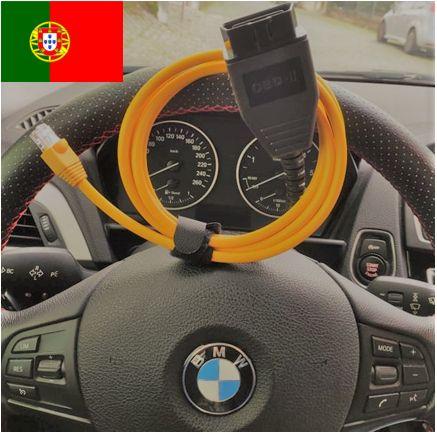 Cabo Diagnóstico BMW & MINI ENET + BMW ISTA-D (PORTUGUÊS) + etc..