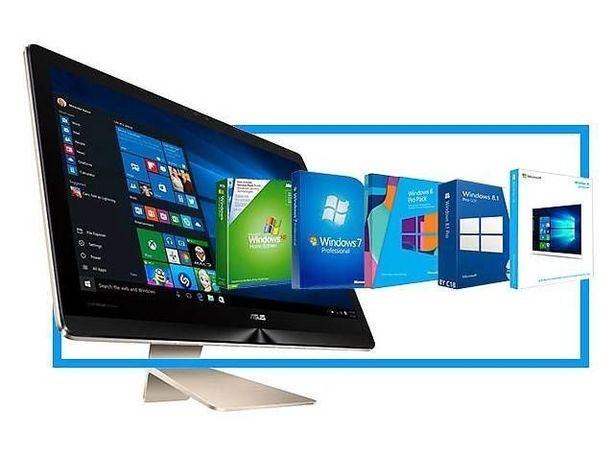Установка Windows Xp,7,8,10(Лицензия).Чистка. Апгрейд.Ремонт.