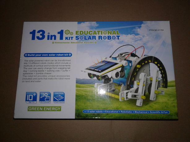 Robot solarny edukacyjny kreatywny 13 w 1 nowy nieużywany