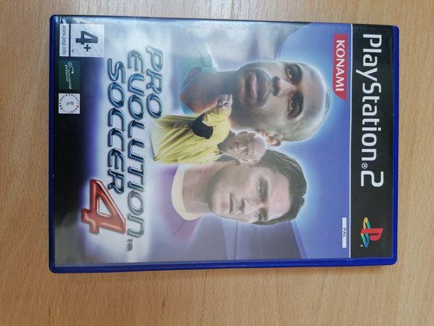 Jogo PS2: Pro Evolution Soccer 4