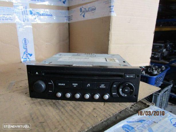 RADIO CD 9664769677 CITROEN / C4 / 2008 / BLAUPUNKT / RD4N102 / CAR 2169 /