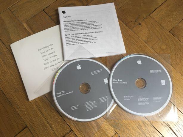 System OSX 10.6.2 (Install DVD / Applications Install DVD)