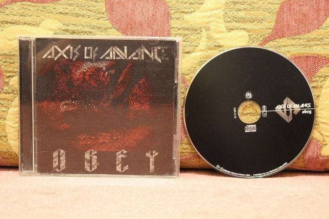 CD-metal.Axis of Advance2004-obey