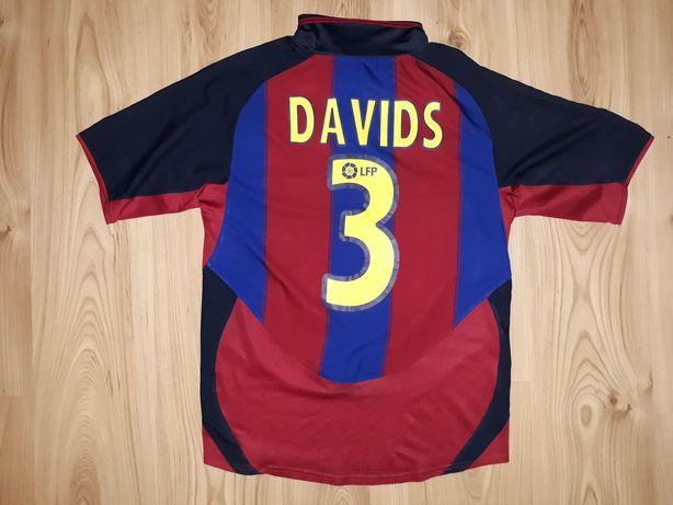 Koszulka Nike S Barcelona Edgar Davids 3 unikatowa