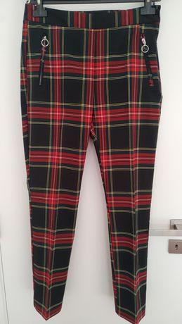 Várias calças Zara e Mango