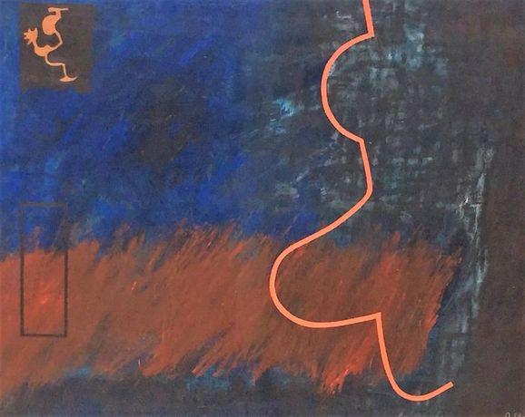 Tela original autor. Técnica: óleo s/ tela.