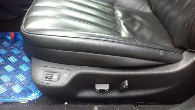 peugeot 407 siedzenia fotel półskóra podsufitka panel wnętrze boczki
