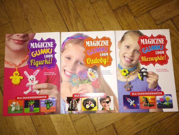 Magiczne gumki loom - książki z projektami