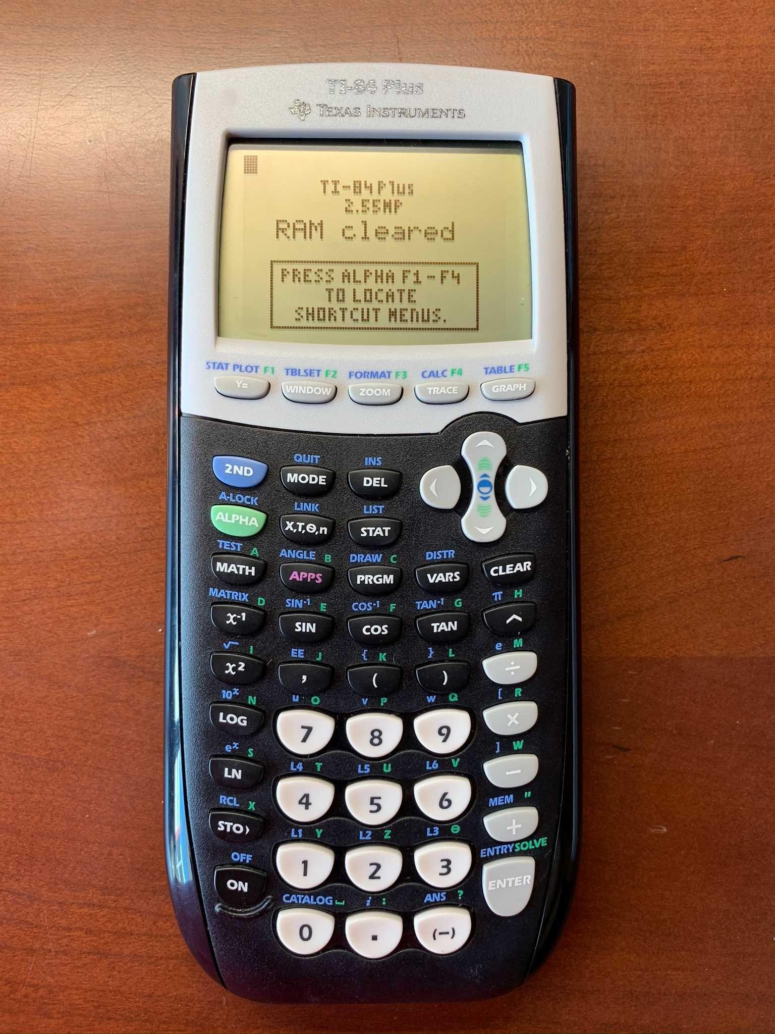 Calculadora Gráfica Ti 84 Plus