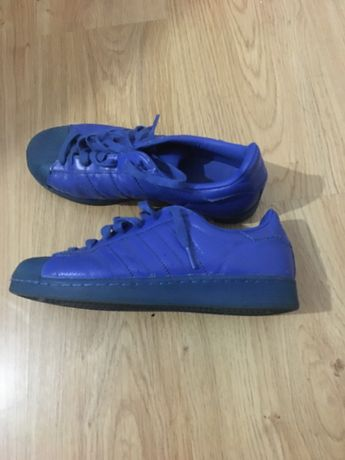 Adidas superstar azuis URGENTE
