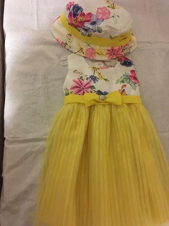 Продам летнее нарядное платье на девочку
