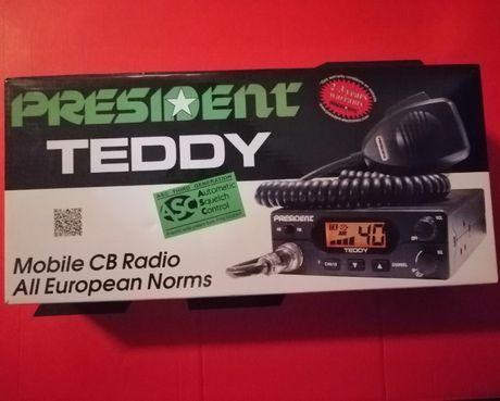 CB Radio TEDDY President Nowe