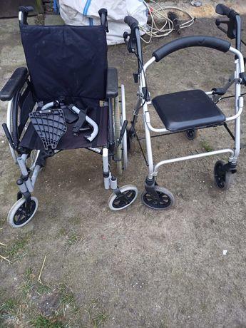 Wózki inwalidzkie balkoniki