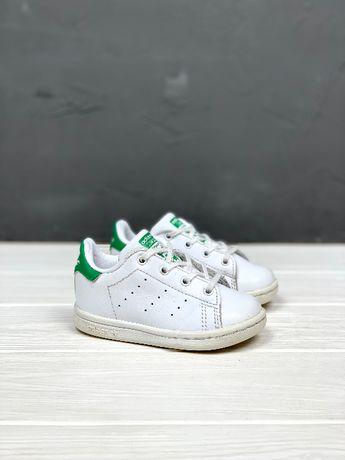 Кеды кроссовки Adidas Stan Smith original детские 20 белые